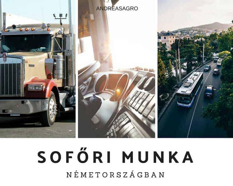 Sofor Munka | Kulfoldi Munka | AndreasAgro
